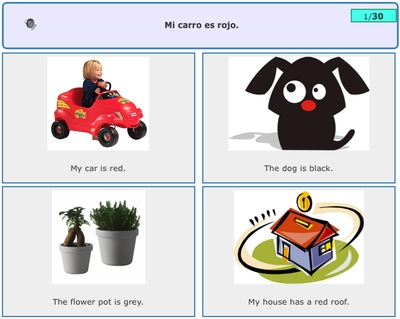 Image Sentence Match for Children